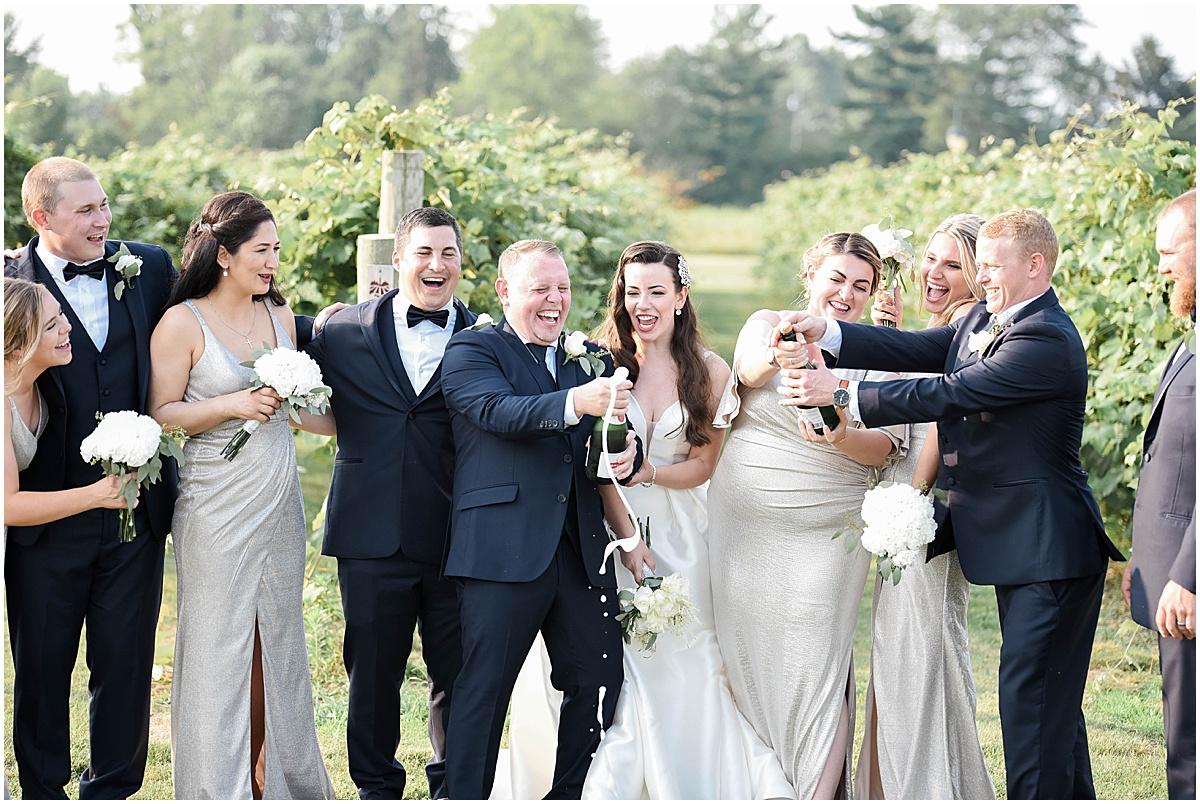After wedding event